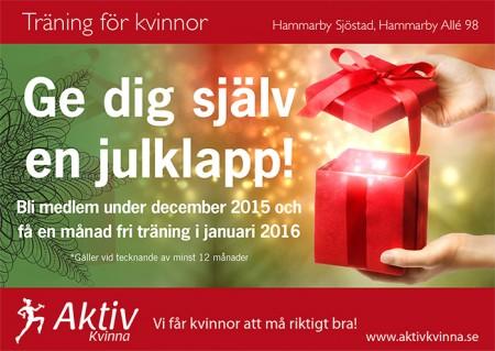 Julerbjudande träning